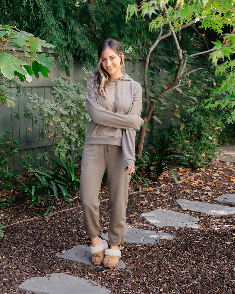 RECYCLED FLEECE SWEATPANT