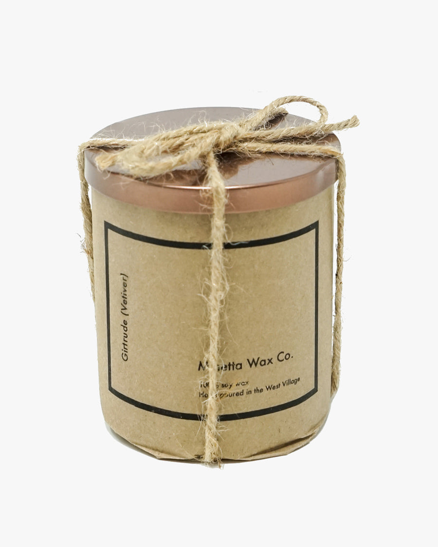 GIRTRUDE CANDLE (VETIVER)