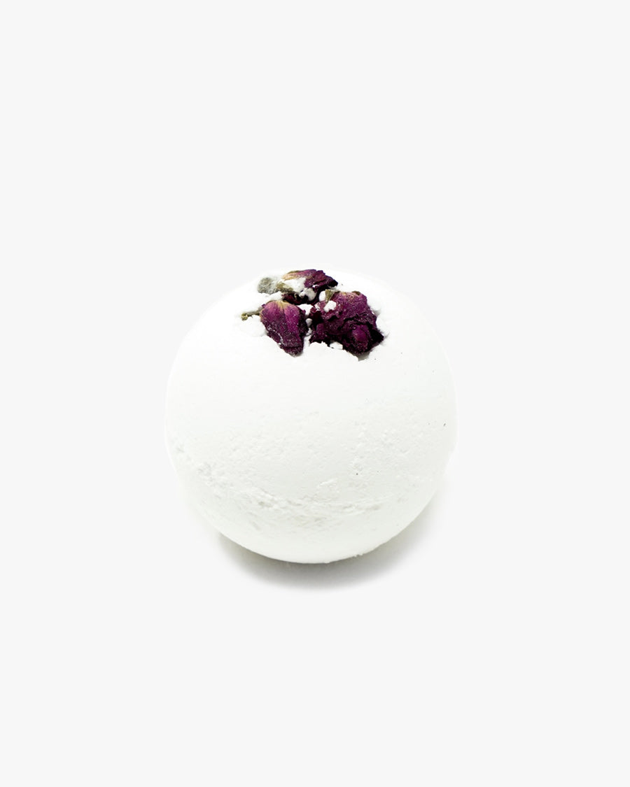 ROSE + SANDALWOOD BATH BOMB