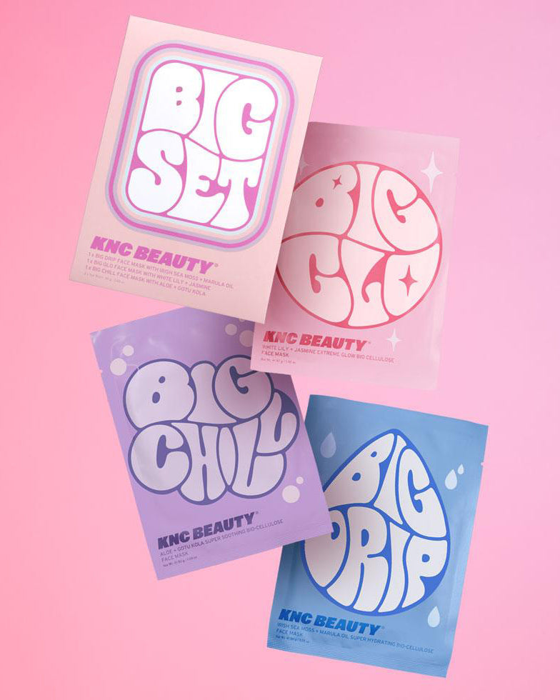 'THE BIG SET' FACE MASK 3 PACK SET