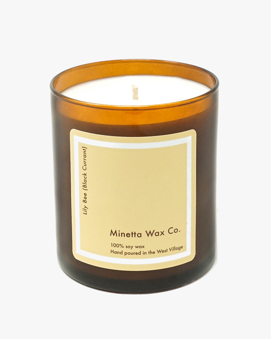 LILY BEE CANDLE (BLACK CURRANT)