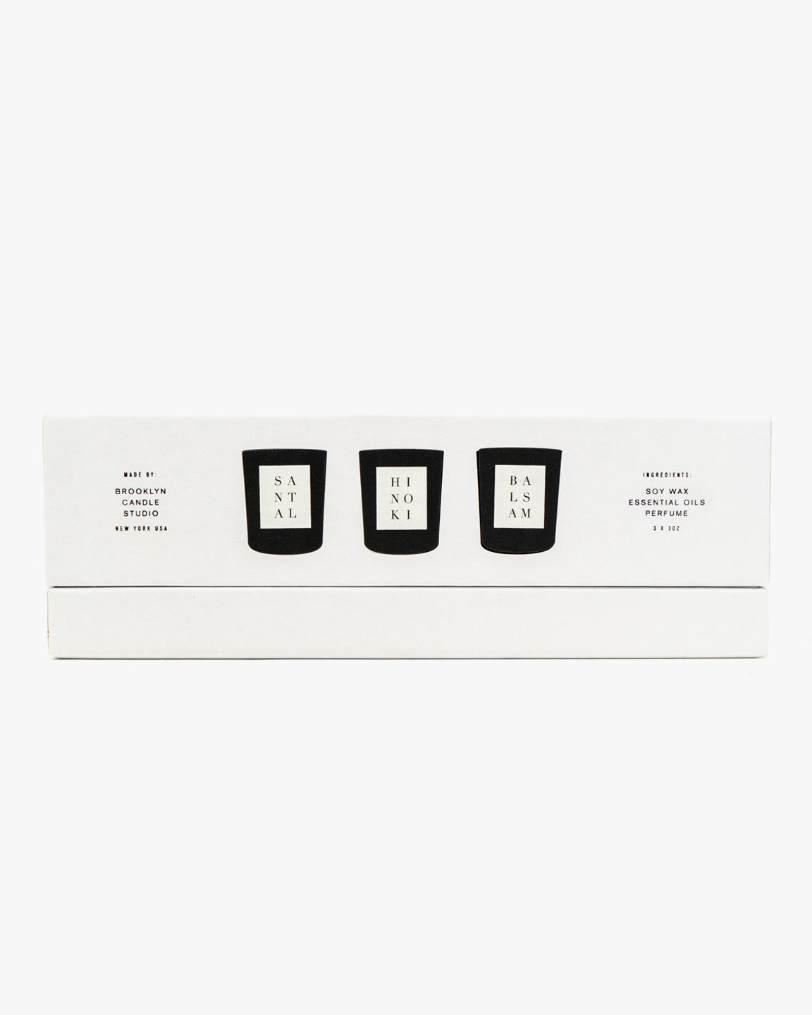 PICK 3 NOIR MINI CANDLE SET