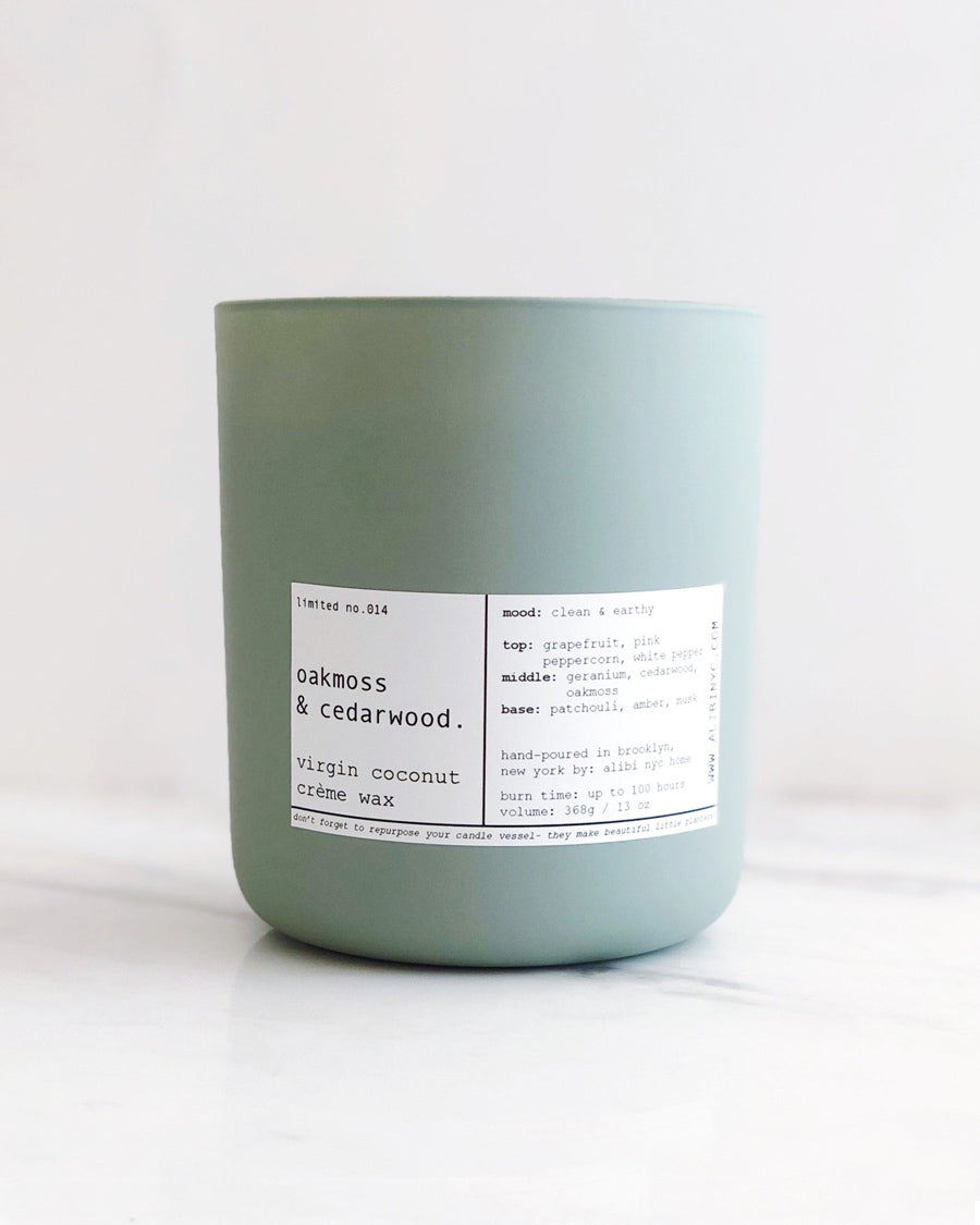 OAKMOSS & CEDARWOOD CANDLE