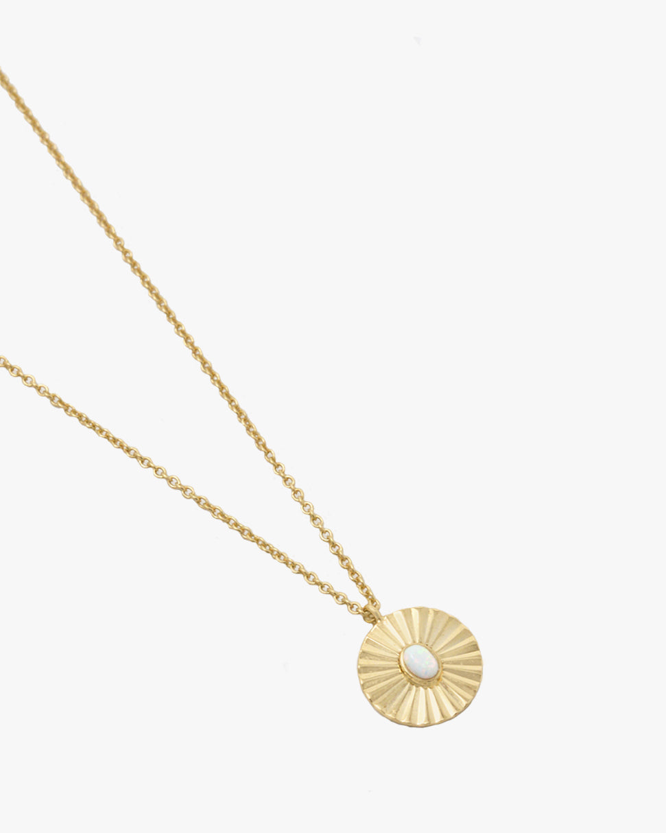 CAMERON OPAL SUNBURST NECKLACE