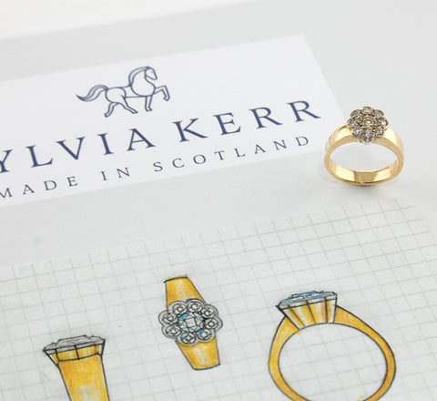 Designs for engagement ring commission