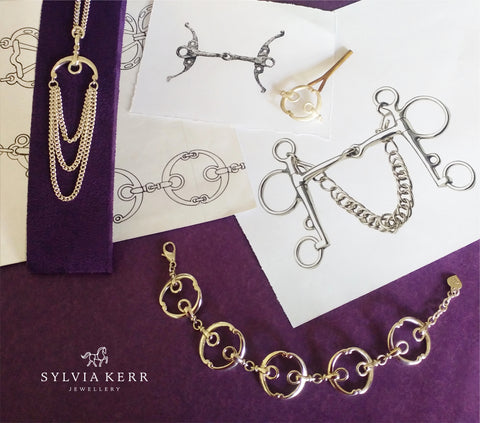 The making of silver equestrian styled Beitris collection