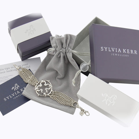 Sylvia Kerr Jewellery presentation packaging