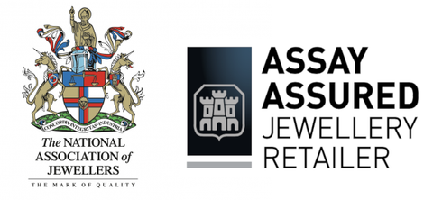 Trade maks of the National association of jewellers and Assay Assured