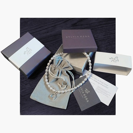 Sylvia Kerr Jewellery packaging
