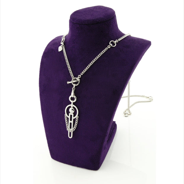 Silver Carriage Neckpiece