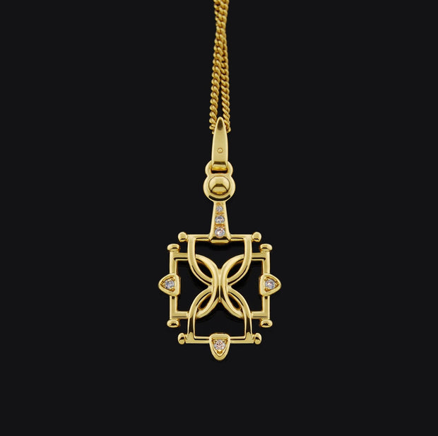 Gold & Diamond Burghley Necklace