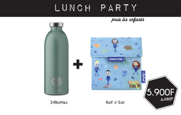 Kit Lunch Party pour Enfant