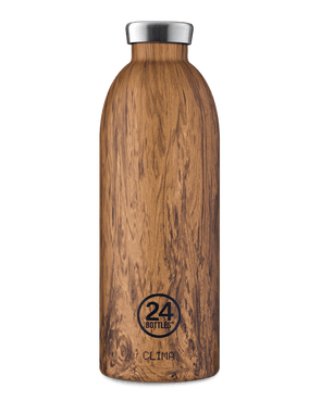 Clima Bottle 850ml - Sequoia Wood (Isotherme) - La Boutique Zéro Déchet.nc