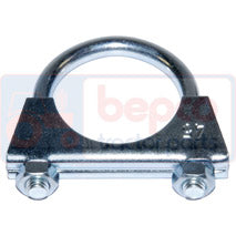 EXHAUST CLAMP  90mm      wall