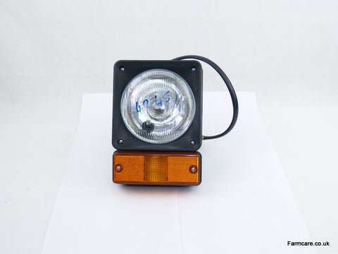 HEAD LAMP/FLASHER Complete c/o Flasher Lamp
