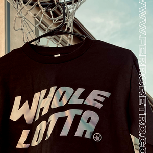 Holographic Whole Lotta Long Sleeve - Black