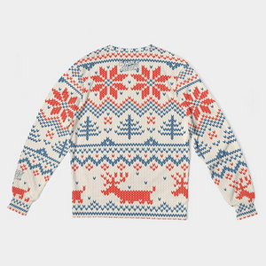 Whole Lotta Christmas Sweatshirt - Red/Blue