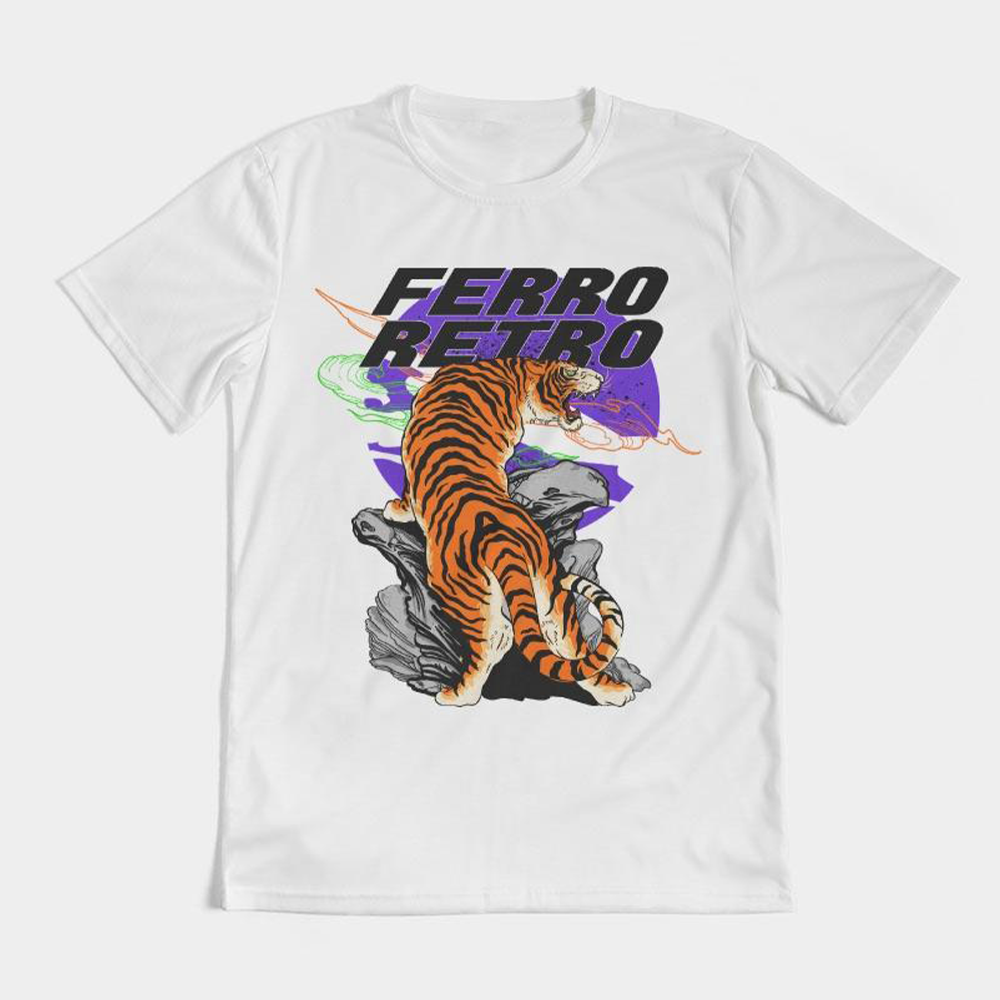 Tiger Star Tee - White