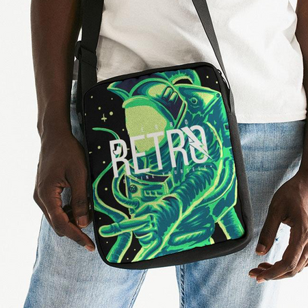 Ferro Retro Spaceman Messenger Bag