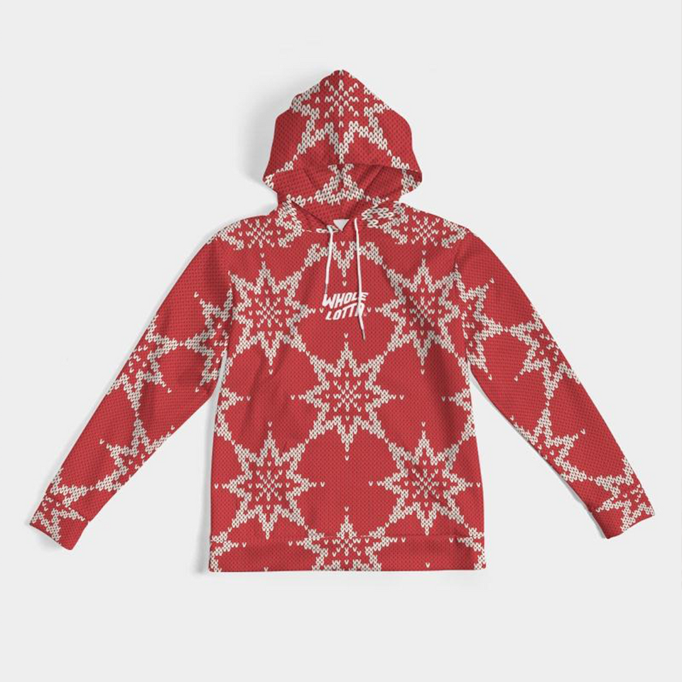 Whole Lotta Christmas Logo Hoodie - Red