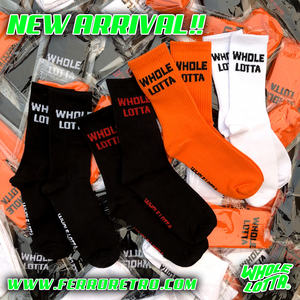 Whole Lotta Socks - Black/Red