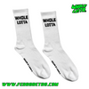 Whole Lotta Socks - White