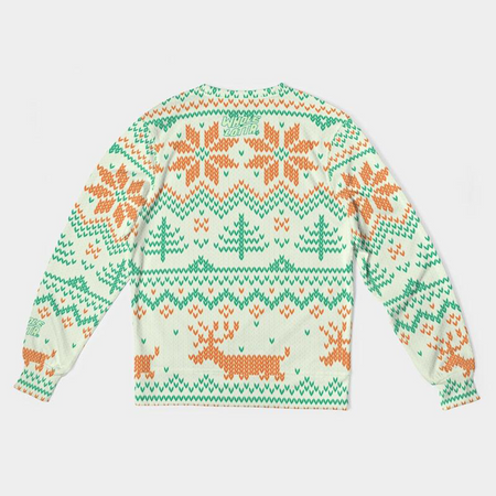 Whole Lotta Christmas Sweater - Orange/Green