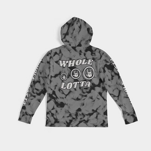 Whole Lotta Star Logo Hoodie - Grey/Black