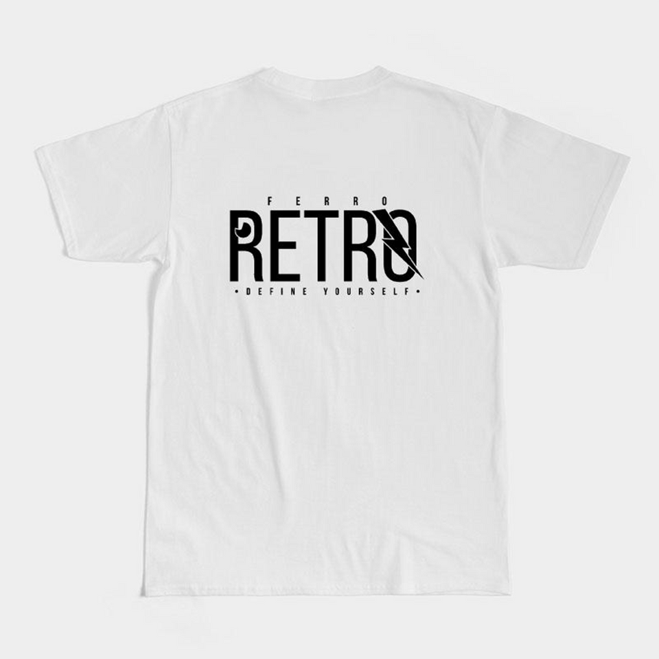 Fire Tiger Tee - White
