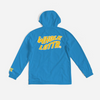 Yellow/White Logo Windbreaker - Powder Blue