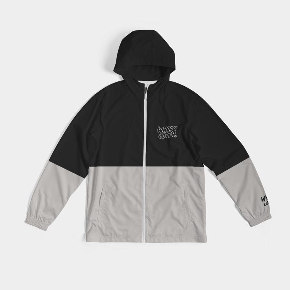 Windbreaker - Black/Grey