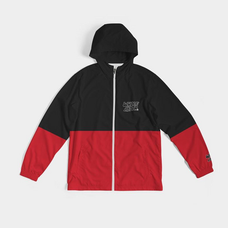 Windbreaker - Black/Red