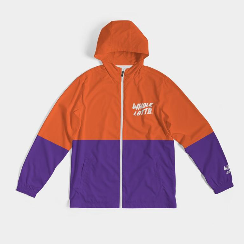 Windbreaker - Orange/Purple