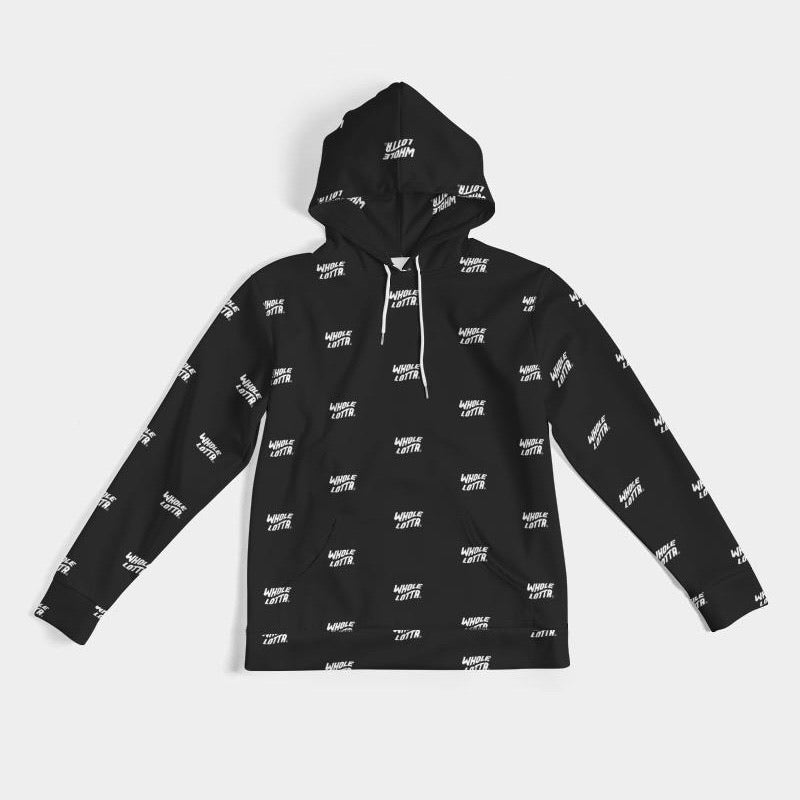 Whole Lotta All Over Hoodie - Black