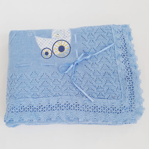 Blanket Gift Box - Ocean Blue