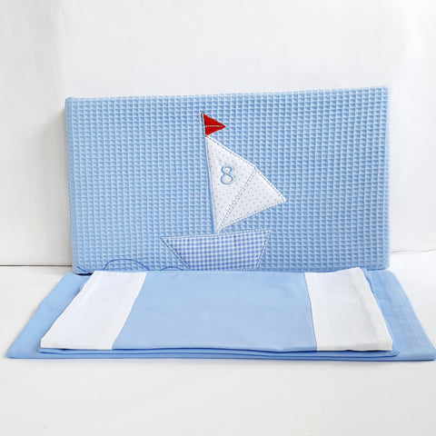 Little Boats Cotbed Bedding Set
