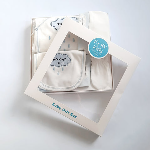 Baby Boy Blue Cloud Gift Box