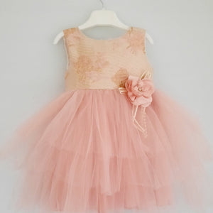 Serena Girls Party Dress