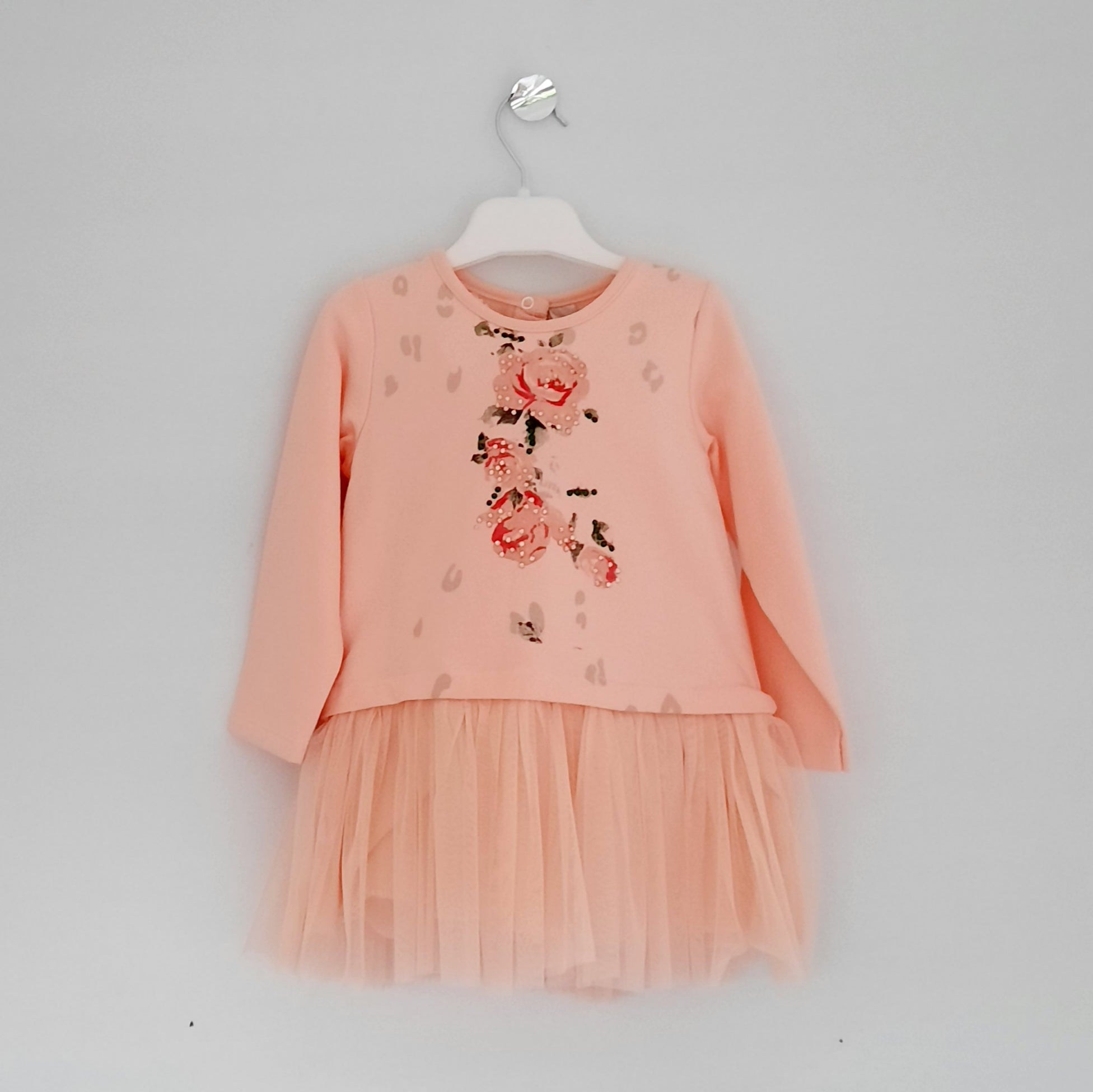 Girls Peachy Dress