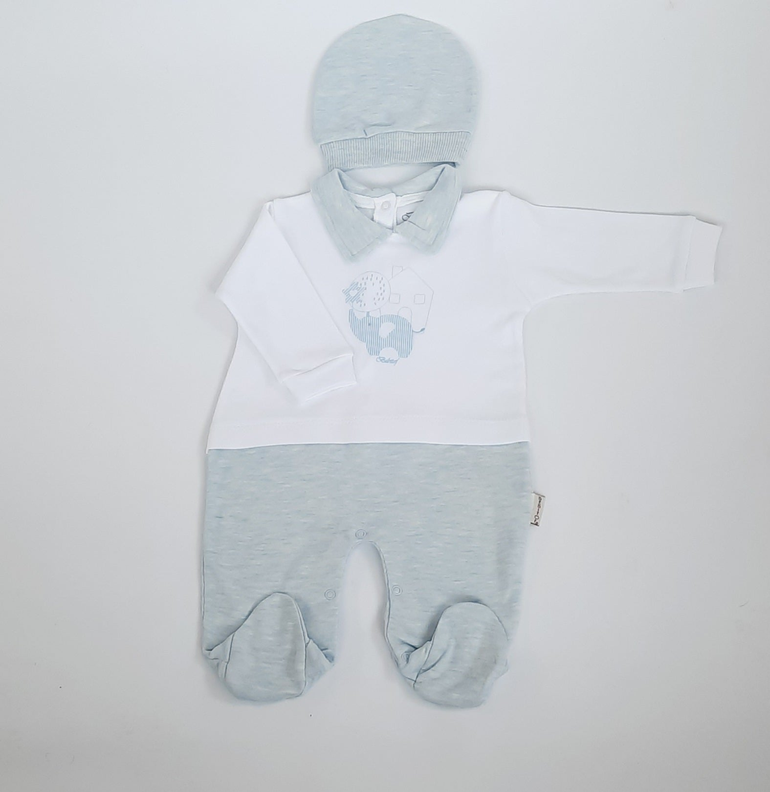 Little Boy Blue Babygro