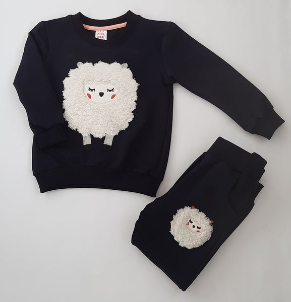 Sadie Girls Sheep Tracksuit