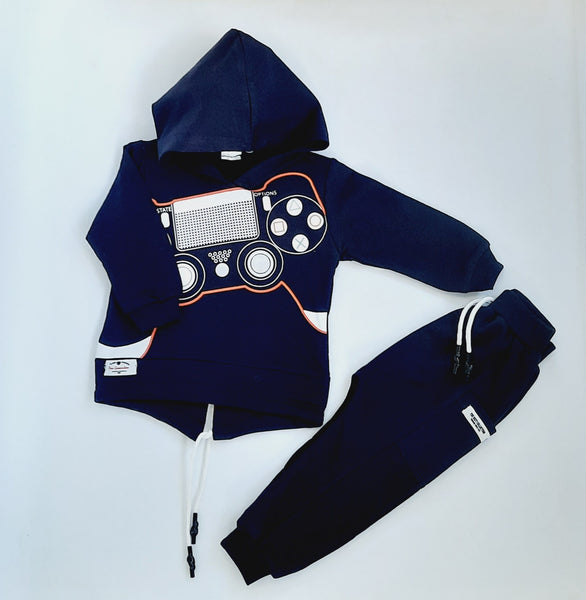 Alex Boys Navy Tracksuit