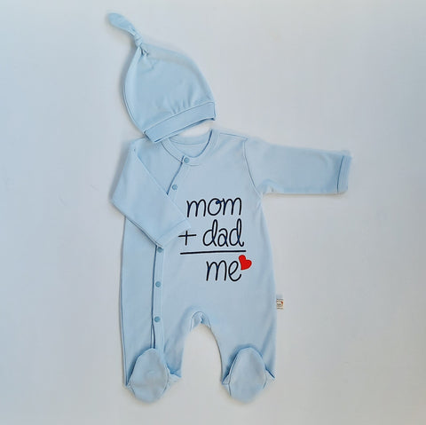 Boys Babygro Mum & Dad & Me