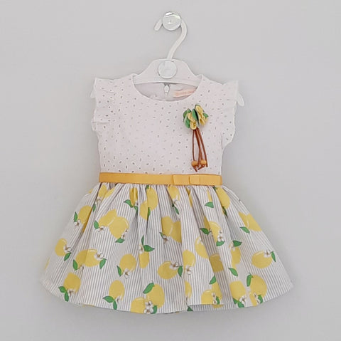 Lizzy Baby Girls Lemon Dress