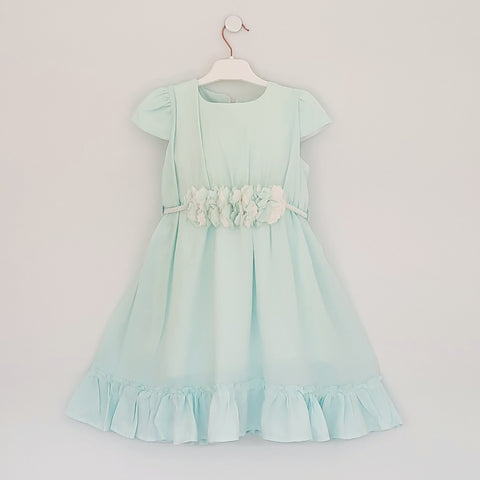 Nane Girls Mint Green Dress