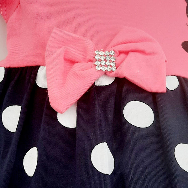 Pink Girls Minnie Mouse Dress