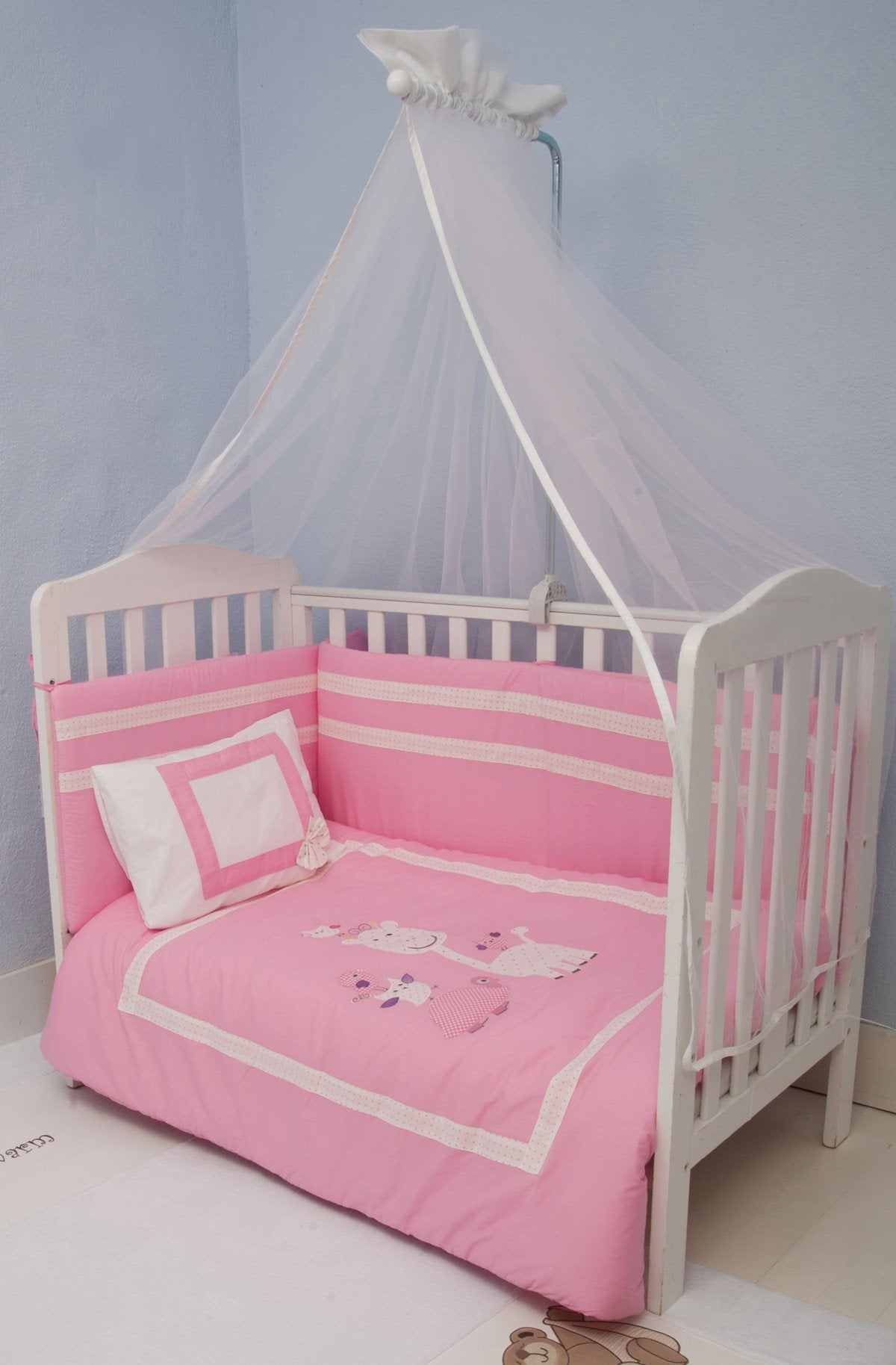 Wholesale Pink Animals - Nursery Bedding Set Dino