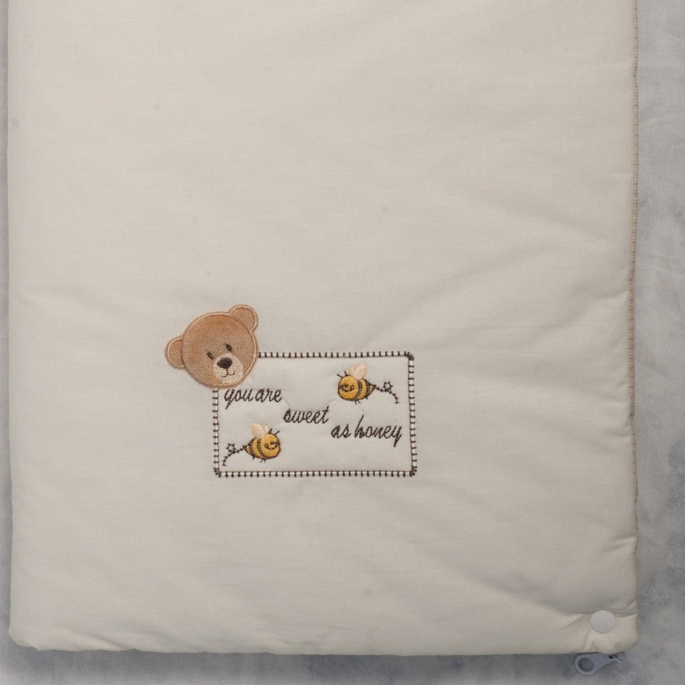 WholesaleHoney Bear Multi Cuddle Blanket