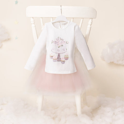 Sally Anne - Girls Tshirt & Tutu