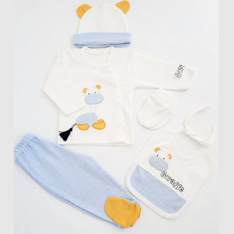 Baby Yellow Giraffe Gift Set